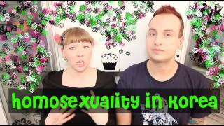 TL;DR - Homosexuality in Korea