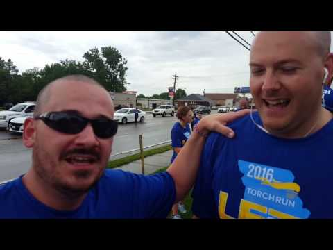Special Olympics Torch Run with Florissant PD and KFTK's Tony Colombo