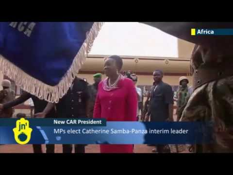 New President in CAR: Bangui mayor calls on Christian militia and Muslim rebels to end bloodshed