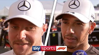 Valtteri Bottas wins as Mercedes clinch F1 2019 constructors' title! | Bottas, Hamilton and Vettel