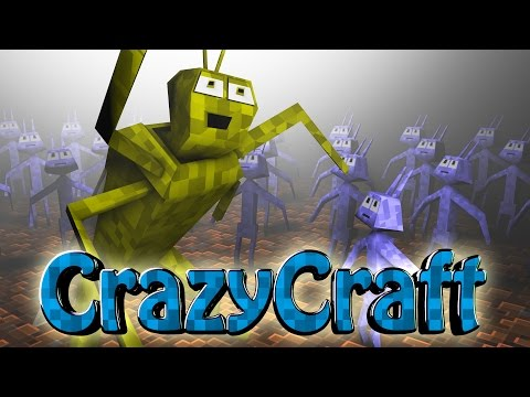 Minecraft | CrazyCraft 2.0 - OreSpawn Modded Survival Ep 144 -