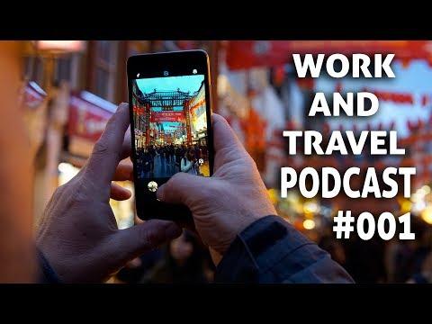 Beim Reisen die schönste Orte finden.  Der Work and Travel Podcast #001