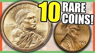 10 EXTREMELY RARE COINS WORTH MONEY - ERROR COINS TO LOOK FOR IN CIRCULATION!!