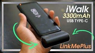 iWalk Link Me Plus | 3300 mAh Type C Power bank + Charging Test & Review