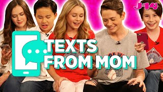 Coop & Cami Ask the World Cast Reads Texts From Mom