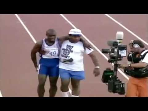 """Perseverance' Derek Redmond - When you don't give up, you cannot fail..."