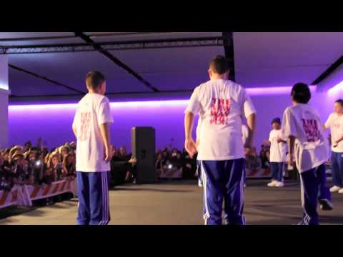 The ICONic Boyz Performing at iPlay America on 11/11/11.