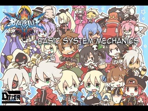 Blazblue Chrono Phantasma Basic System Mechanics video