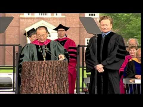 Conan O Brien (Doctor of Arts)- Dartmouth 2011 Honorary Degree Recipient