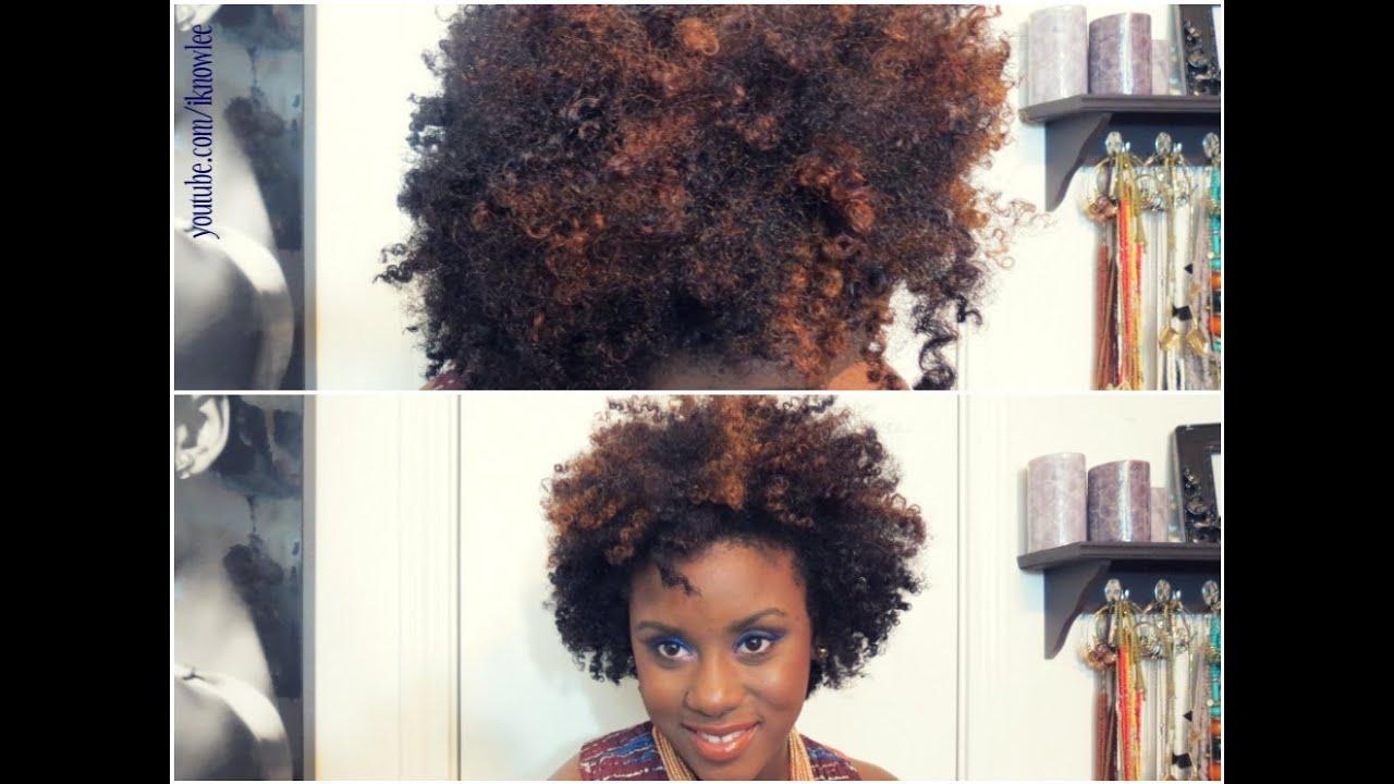 Natural Hair Highlights Length Check Youtube