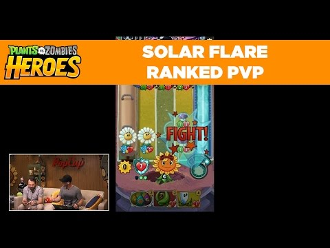 Plants vs. Zombies Heroes | Solar Flare Ranked PvP Match