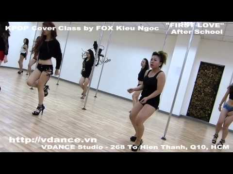 FOX Kieu Ngoc - FIRST LOVE - Kpop POLE DANCE Cover (VDANCE Studio)