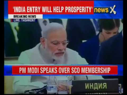 PM Narendra Modi speaks over SCO membership