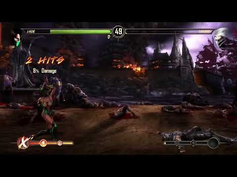 Let's Play Mortal Kombat 9 Story Mode Deutsch #10 - Jade