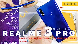 Realme 3 Pro Durability Test - Not better than Realme 3? |Bend Test|Drop|Scratch|Sound Test|