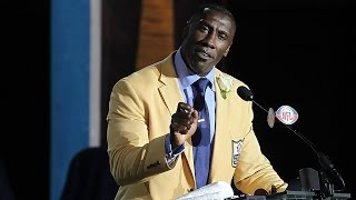 Best of Shannon Sharpe's Pro Football Hall of Fame speech