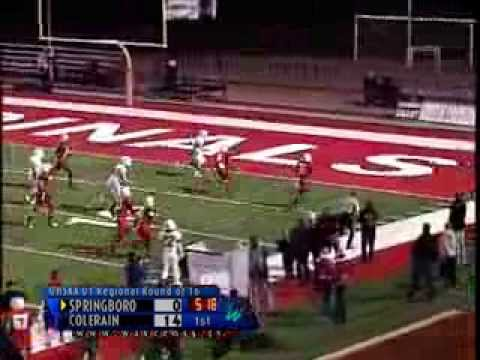Springboro @ Colerain High School Tourney Football Highlights