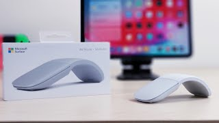 Possibly The Best Mouse for iPadOs:  Microsoft Surface Arc...