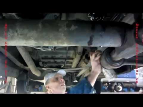 Видео как снять кардан