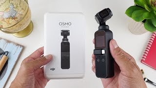 5jt-an.. Review DJI OSMO POCKET Indonesia, 4K 60fps, Slowmo 120fps