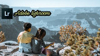 Tutorial Lightroom - Cara Edit efek Teal and Orange di Lightroom Android
