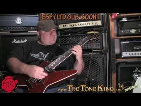 Gus G - Signature Series ESP LTD 600 600NT - Guitar Review / Demo - TTK Style! NT Ozzy Firewind