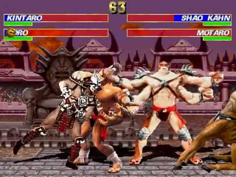 Kintaro & Goro VS Shao Kahn & Motaro [Mortal Kombat Project]