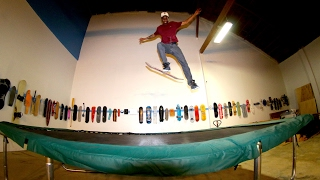 TRAMPOLINE SKATEBOARDING INSANITY | BRAILLEHOUSE SESSIONS 12