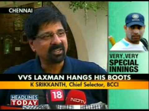 Sourav Ganguly Slams Selectors For Vvs Laxman's Retirement - Part 3 Of 6 video