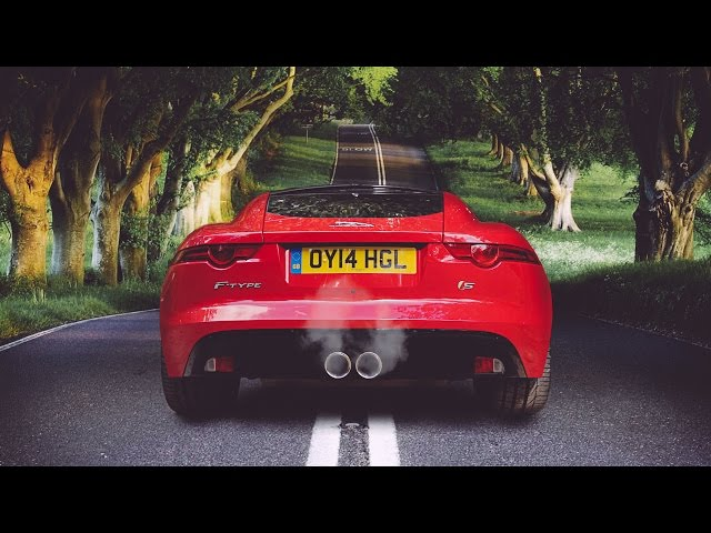 Jaguar F-Type Coupe: The Best V6 Exhaust Note In History ...