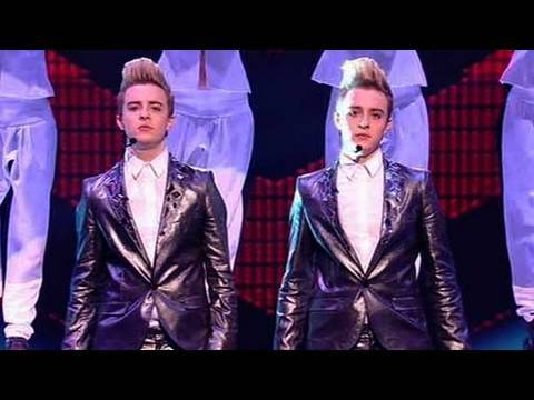 The X Factor 2009 - John and Edward - Live Show 6 (itv.com/xfactor)