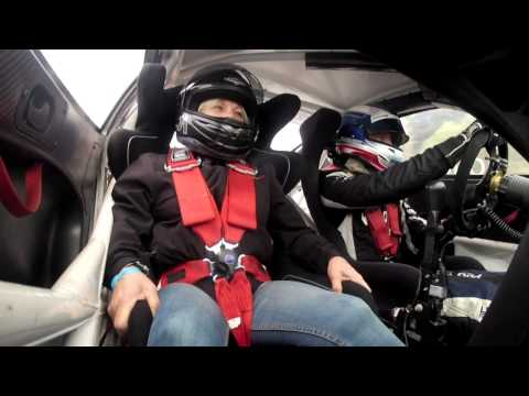 Ola Nilssons mom takes a ride-along with him in his Porsche Carrera Cup car, onboard footage