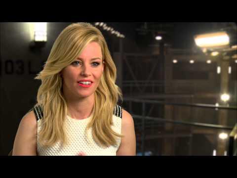 Elizabeth Banks - Mockingjay Part 1 Cast Interview [HD]