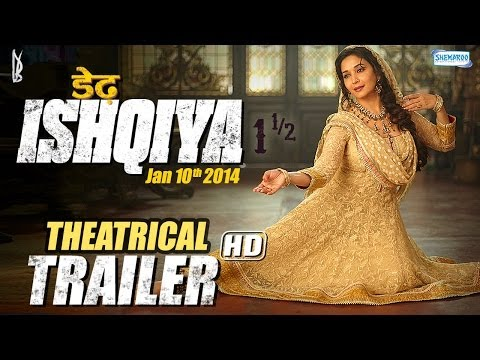 Dedh Ishqiya (jan 2014) - Theatrical Trailer | Madhuri Dixit - Naseeruddin - Arshad Warsi - Huma video