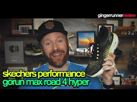 SKECHERS PERFORMANCE GORUN MAX ROAD 4 HYPER REVIEW | The Ginger Runner