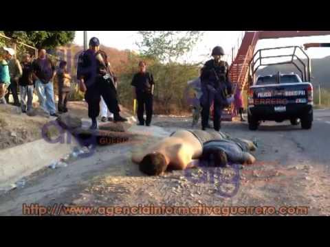 Localizan a tres personas asesinadas en la comunidad de Xalitla del municipio de Tepecoacuilco