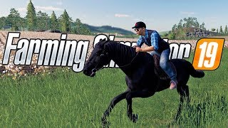 Getting Rich Training Horses - Horse Stable & Horse Training - Farming Simulator 19