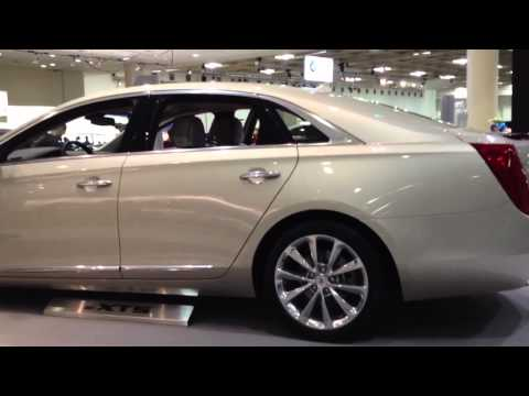 Cadillac XTS at San Francisco Auto Show