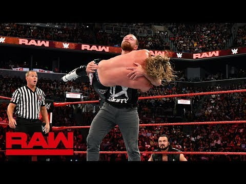 Dean Ambrose vs. Dolph Ziggler: Raw, Aug. 20, 2018