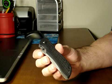 Benchmade Nitrous Stryker Knife Review. Part 1