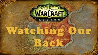 World of Warcraft Quest: Watching Our Back (Alliance)