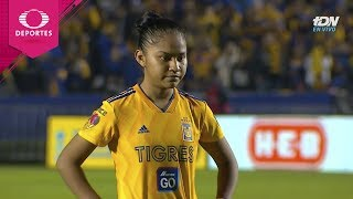 Serie de penales | Tigres 1 (1) - (3) 1 América | Gran Final - Liga MX Femenil | Televisa Deportes