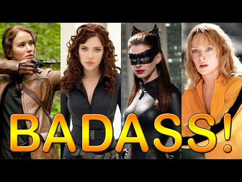 9 Most Badass Movie Heroines: Catwoman, Katniss & More!