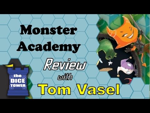 Monster Hero Academy Review - with Tom Vasel