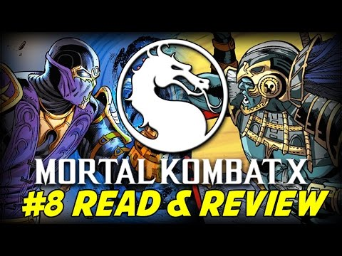 Mortal Kombat X #8 Betrayal In Outworld Part 2 of 3 (Read & Review)