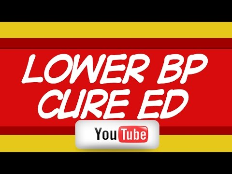 ✤✤ Use Natural Ways To Lower Blood Pressure and Cure Erectile Dysfunction ✤✤