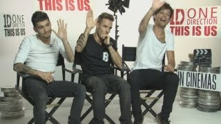 EXCLUSIVE NEW ONE DIRECTION INTERVIEW: One Direction talk films, dating movie stars, acting & games