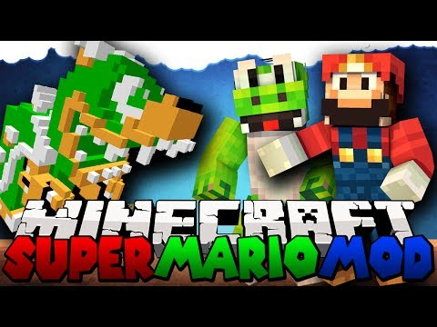 Minecraft Mods Super Mario Mod Showcase Mod Review [1.7.2]