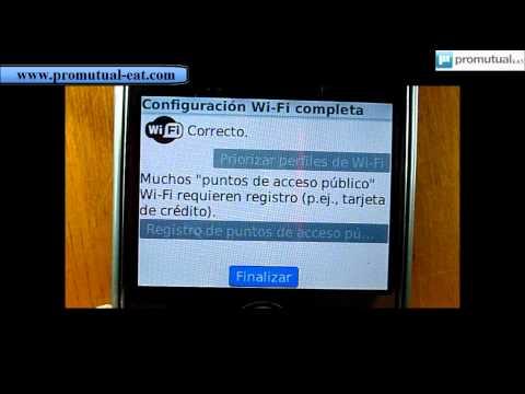 Wifi: como configurar para BlackBerry Curve 8520 9300 Storm 2 9550 9700 8120 8320 8900