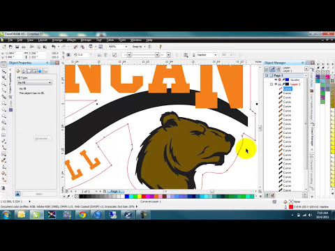 Corel Draw tutorial on Versaworks cutline and contour tool